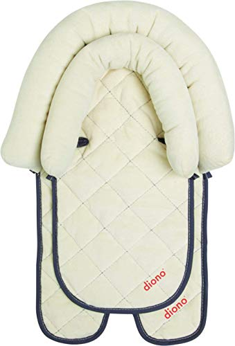 Diono Cuddle Soft, 2-in-1 Head Support, Ivory