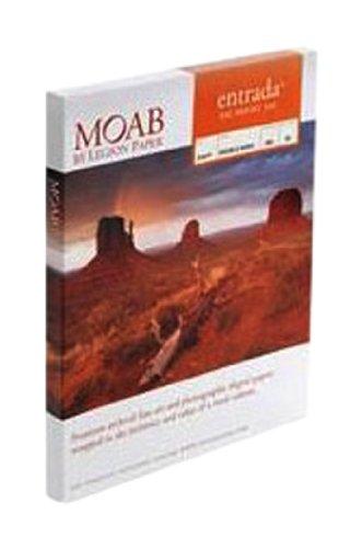 Moab Entrada Rag Bright ERB300A225 - Hojas de papel de algodón ...