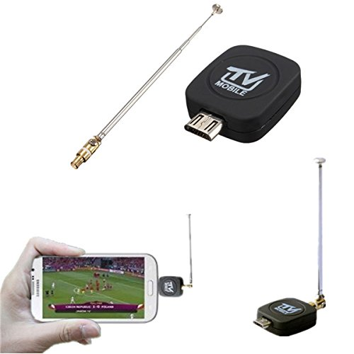ANDROSET Mini Micro USB DVB-T Digital Mobile TV Tuner Receiver