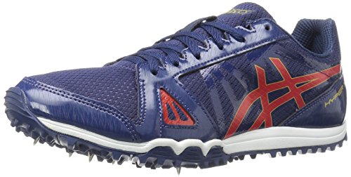 Image of ASICS Men's Hyper XC Cross-Country Running Shoe, Estate Blue/Vermilion/Rich Gold, 10.5 M US