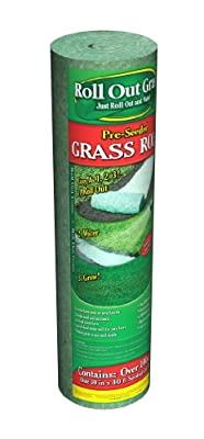 Garden Innovations GRN100 30-Inch by 40-Foot Roll Out Grass, 100 Square Foot