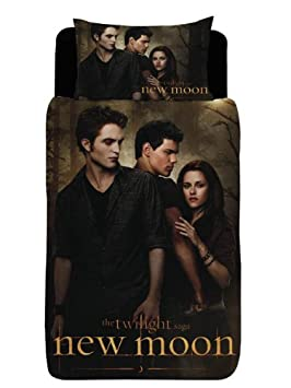 Parure Housse Couette 1 Taie Twilight Saga 1 Pers Amazon