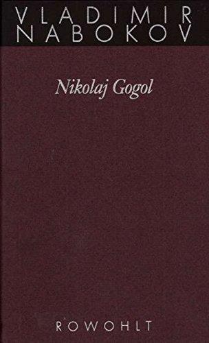 Nikolai Gogol  Nabokov  Gesammelte Werke Band 16