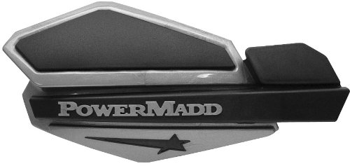 PowerMadd Star Series Handguard System - Silver/Black
