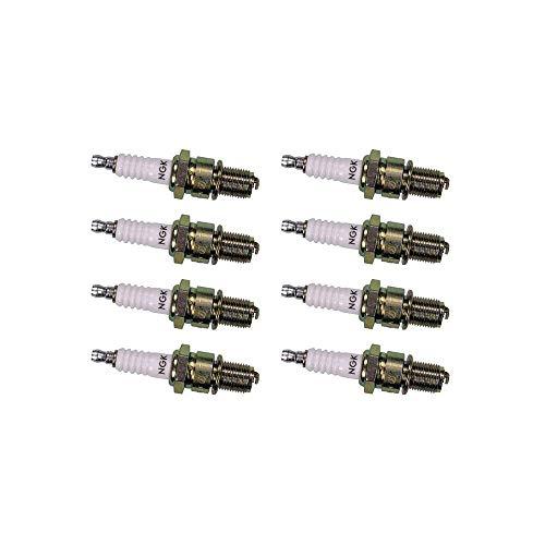 NGK Standard Series Spark Plug BPR5ES (8 Pack) for LAND ROVER RANGE ROVER HSE 1996-2002 4.6L/4554cc 2000 Range Rover 4.6 Hse