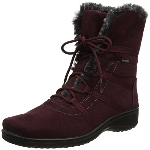 ara München-St-Gor-Tex, Women's Snow Boots Red (Brunello, Graphit)