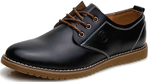 Amazon.com  DADAWEN Men&39s Dress Casual Oxfords Leather Shoes ...