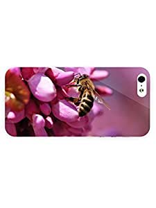 3d Full Wrap Case For Ipod Touch 5 Cover Animal Bee33