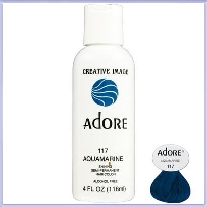 Adore Creative Image Hair Color #117 Aquamarine