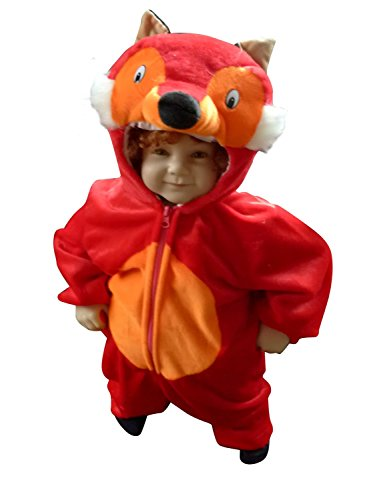 [Fantasy World F21 Halloween Fox Costume for children Size 12-18 months] (Funny Ideas For Girl Halloween Costumes)