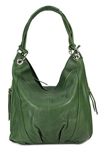 Belli, Borsa a spalla donna Verde verde