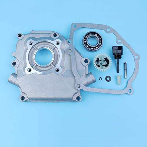 Jammas Crankcase Side Cover Gasket Oil Dipstick Governor Gear Kit For Honda GX160 GX200 GX140 5.5HP 6.5HP 168F Gas Engine Generator