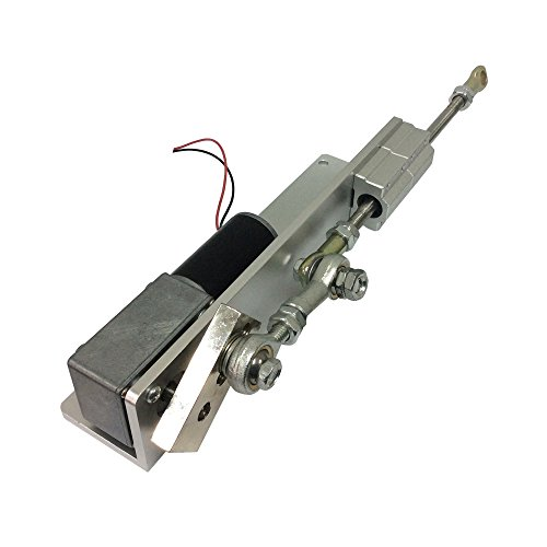 (BEMONOC DIY Reciprocating Cycle Linear Actuator with DC Gear Motor 12V 24 Volt Stroke 70mm Adjustable 16 RPM Speed Optional)