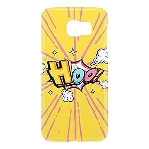 Loud Universe Samsung Galaxy S6 3D Wrap Around Comic Hoo Print Cover - Yellow