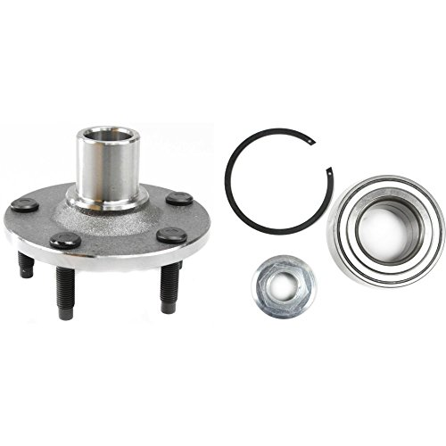 Bearings Hubs Mariner Front - Wheel Hub and Bearing For 2001-2012 Ford Escape Front Left or Right With Snap Rings Nuts and Studs