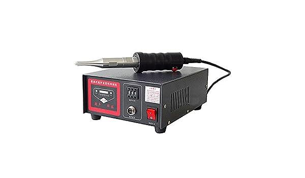 500 W de alta potencia ultrasónica de plástico máquina de soldadura portátil ultrasonido punto soldador: Amazon.es: Bricolaje y herramientas