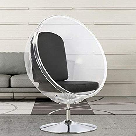 Hogar Decora Sillon Huevo Transparente, 80cm x 103cm x 132cm ...