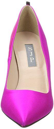 SJP by Sarah Jessica Parker Fawn 100, Scarpe con Tacco Donna Rosa (Candy Satin)