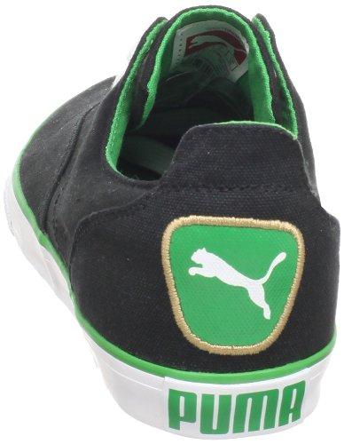 Puma Menns Limnos Mote Sneaker Svart-bregne Grønn