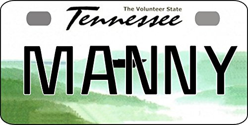 Personalized Tennessee 2007 Bicycle Replica License Plate With Any Name