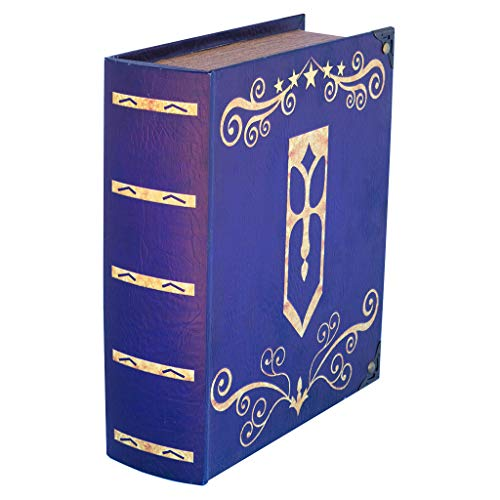 Grimoire Deck Box, Avalon - Wooden Spellbook Style Large Capacity Trading Card Deck Storage (800 to 1000 Cards) for MTG Magic the Gathering, Yugioh, Pokemon | Gift Item for Commander, Edh, Modern