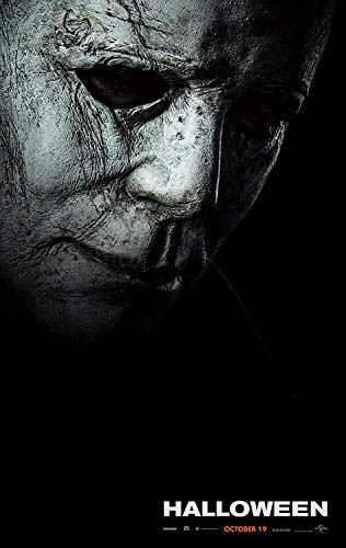 Movie Posters HALLOWEEN (2018) 24x36 with Certified Sequential Holographic Sticker for Authenticity