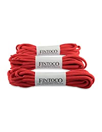 Oval Athletic Laces - 3 Pair Pack - 12 different colors