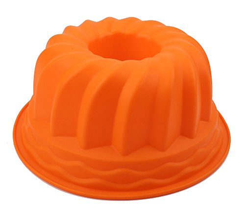 ️ Yu2d ❤️❤️ ️Practical Silicone Ring Shaped Cake Pastry Bread Mold Mould Kitchenware ()