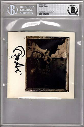 "STEVE ALBINI Signed""PIXIES"" CD Jacket BECKETT BAS SLABBED #00011292720"