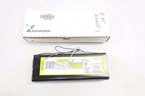 - NEW ADVANCE RSM-175-S-TP SLIMLINE 120V-AC BALLAST LIGHTING D553845