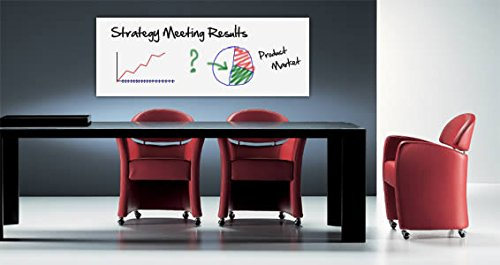 Whiteboard Dry Erase Removable Vinyl (96''X72'') by Dezign with a Z (Image #2)