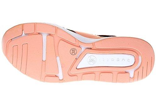 bugatti Dy5005-6n6-728 - Zapatillas para mujer DUNKELGRÜN/PFIRSICH