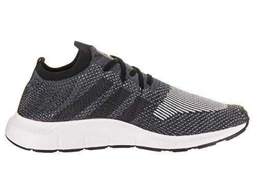 Adidas Heren Snelle Run Primeknit Originelen Loopschoen Kern Zwart / Grijs Vijf Grijs Heide