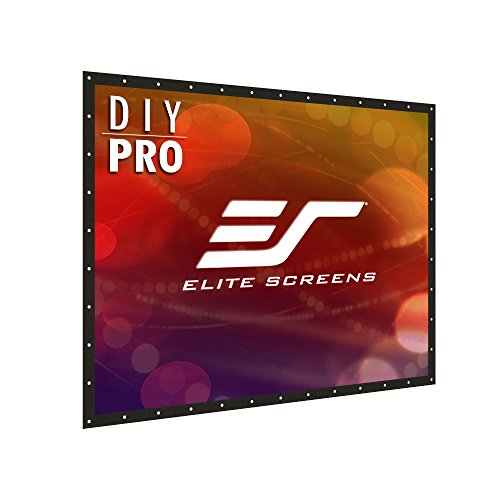 Custom Pro Series - Elite Screens DIY PRO Series, 145-inch 4:3, Do-It-Yourself Indoor & Outdoor Projection Screen, Model: DIY145V1