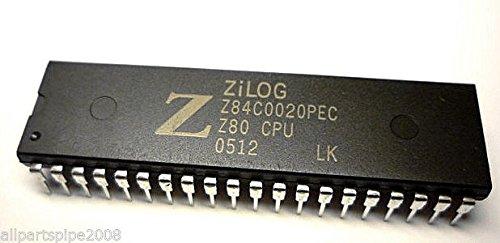 5pcs Z84C0020PEC NMOS/CMOS Z80 CPU CENTRAL PROCESSING UNIT DIP-40