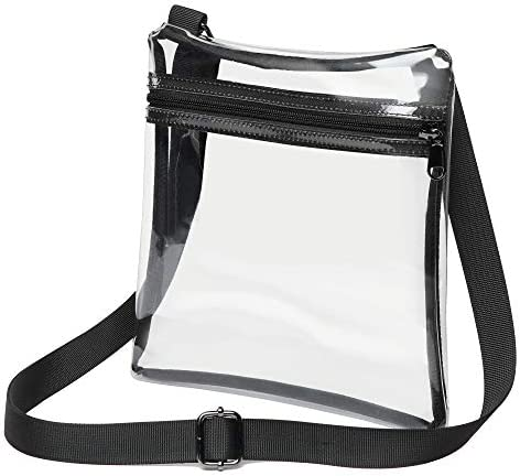 Clear Crossbody Purse Stadium Approved product image