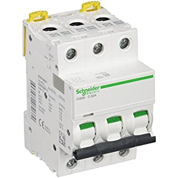 Schneider Electric ic60/N C-Type 3P Circuit Breaker