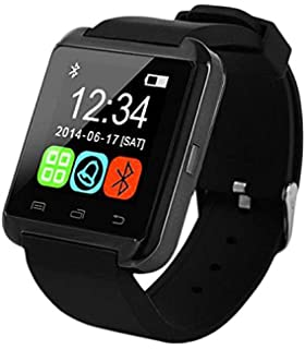dabc3c687fa Relogio Bluetooth Smart Watch U8 Android Iphone 5 6 S5 Note  Amazon ...