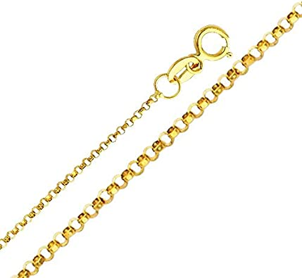 The World Jewelry Center 14k Yellow Gold Key to My Heart Pendant with 1.2mm Cable Chain Necklace