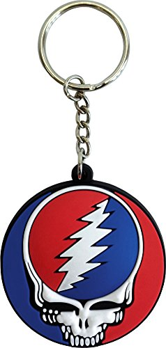 3d Rubber Key Chain - Grateful Dead Steal - Key Chains Grateful Dead