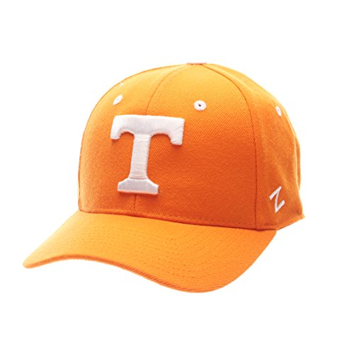NCAA Tennessee Volunteers Men's DH Fitted Cap, Light Orange, Size 7 3/4 (Orange Fitted Cap)