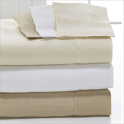 DreamFit Degree 6 MicroTencel / Supima Cotton Luxury Sheet Set (King, Tan) by DreamFit
