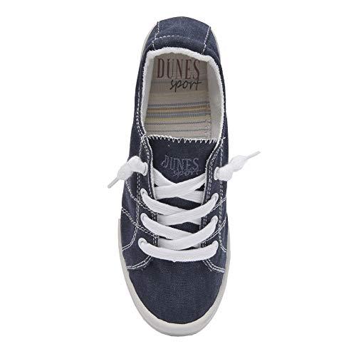Dunes Sport Women's Reesa Canvas Sneaker, Navy, 11