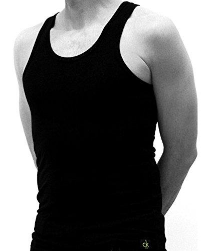 Calvin Klein Camiseta Interior, Opaco (Pack de 2) para Hombre