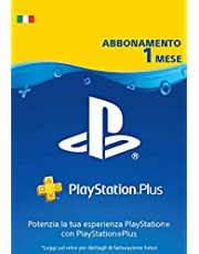 PlayStation Plus Abbonamento 1 Mesi | Codice download per PSN - Account italiano