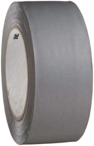 - 3M Vinyl Duct Tape 3903 Gray, 2 in x 50 yd 6.3 mil (Pack of 1)