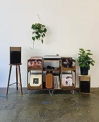 Deluxe Vinyl Display Turn Table Station ...