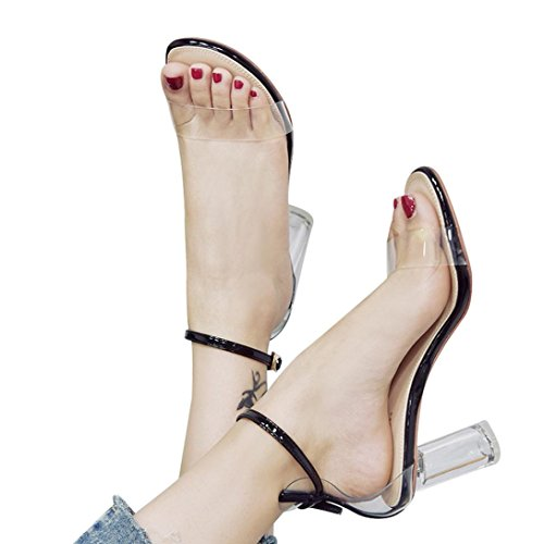 b44346b65cf Fashion Women Transparent Sandals