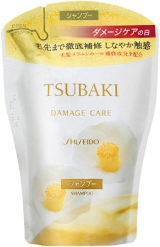 Shiseido Tsubaki Damage Care Shampoo - 400ml Refill Damage Care Shampoo