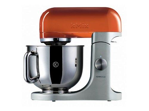 660 opinioni per Kenwood Linea kMix KMX97 Kitchen Machine con Ciotola in Acciaio, Arancione